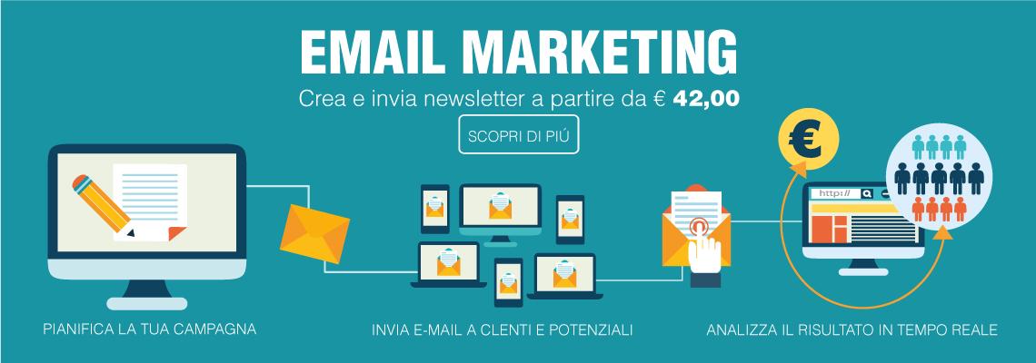 crea e invia newsletter